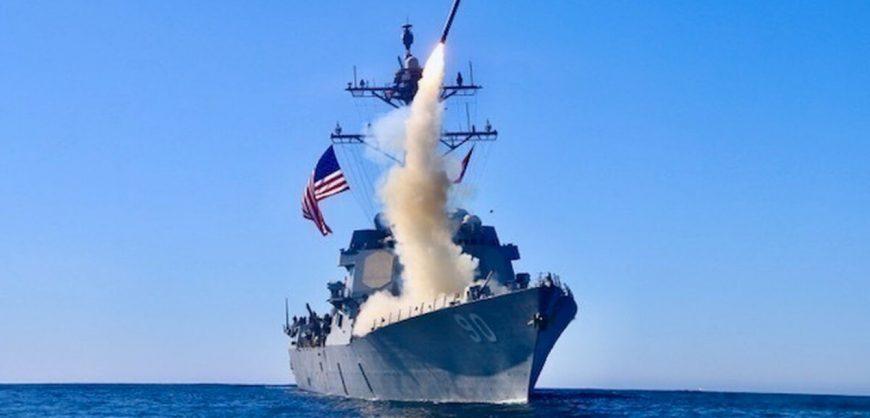 Минобороны заявило о попытке эсминца США нарушить госграницу России
