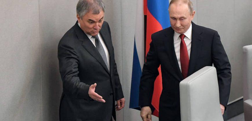 Председателем Госдумы вновь стал Володин