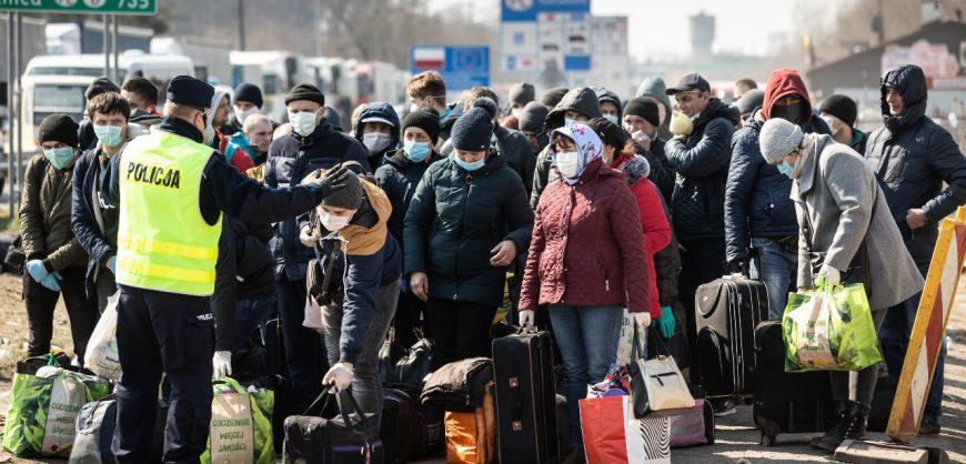 Парламент Польши принял поправки о выдворении мигрантов, прибывающих из Белоруссии