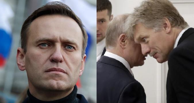 Песков на вопрос о положении Навального в тюрьме: «Будем надеяться, что он не умрёт»