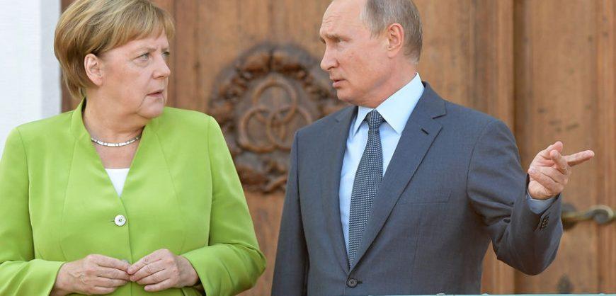 Меркель заявила, что осознала «значительные разногласия» с Путиным ещё в 2001 году