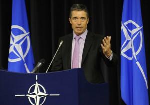 BELGIUM-NATO-US-DEFENCE-ALBRIGHT