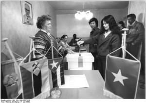Chemnitz, Gastarbeiter bei der Kommunalwahl