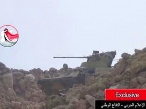 The Times: На видео из Сирии зафиксирован один из новейших БТРов российской армии