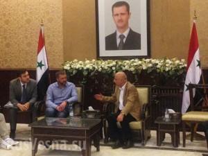 Визит в Сирию российской делегации в мае 2015 года