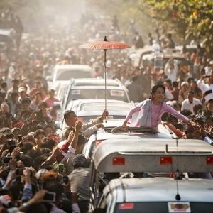 Лидер оппозиции Мьянмы