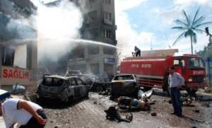 Один из терактов в Турции