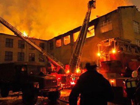 В психоневрологическом интернате в селе Алферовка Новохоперского района Воронежской области произошел пожар