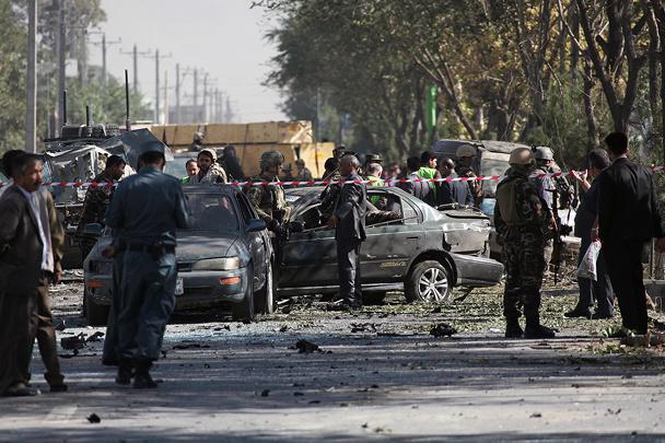 Впроцессе взрыва вКабуле казахстанцы непострадали