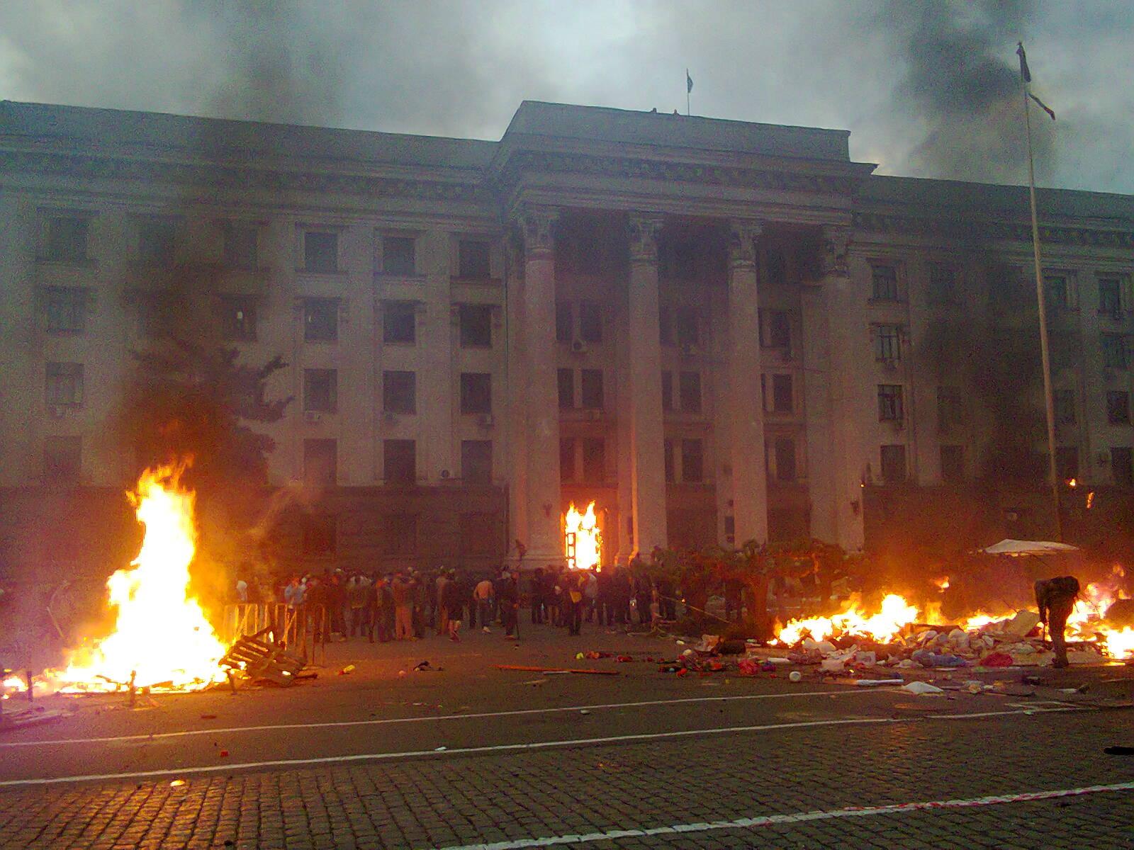 Одесская полиция заявила об утрате улик по делу о событиях в Доме профсоюзов