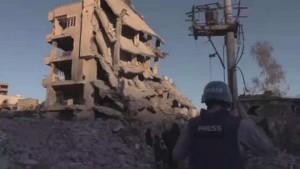 Разрушенная турецким спецназом Джизра