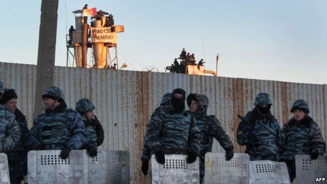 3-х организаторов бунта висправительной колонии 935 вгороде Абакане задержали следователи