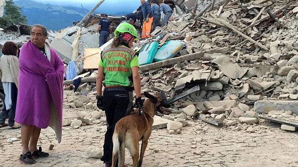 Количество погибших достигло 160— Землетрясение вИталии