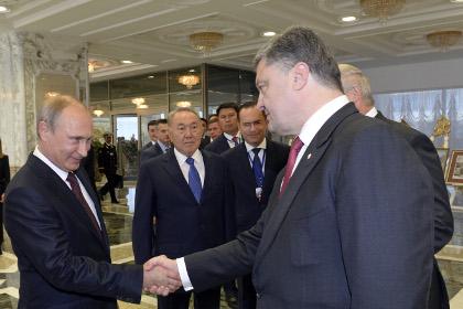 Президент Украины ответил Путину наего объявление оКрыме