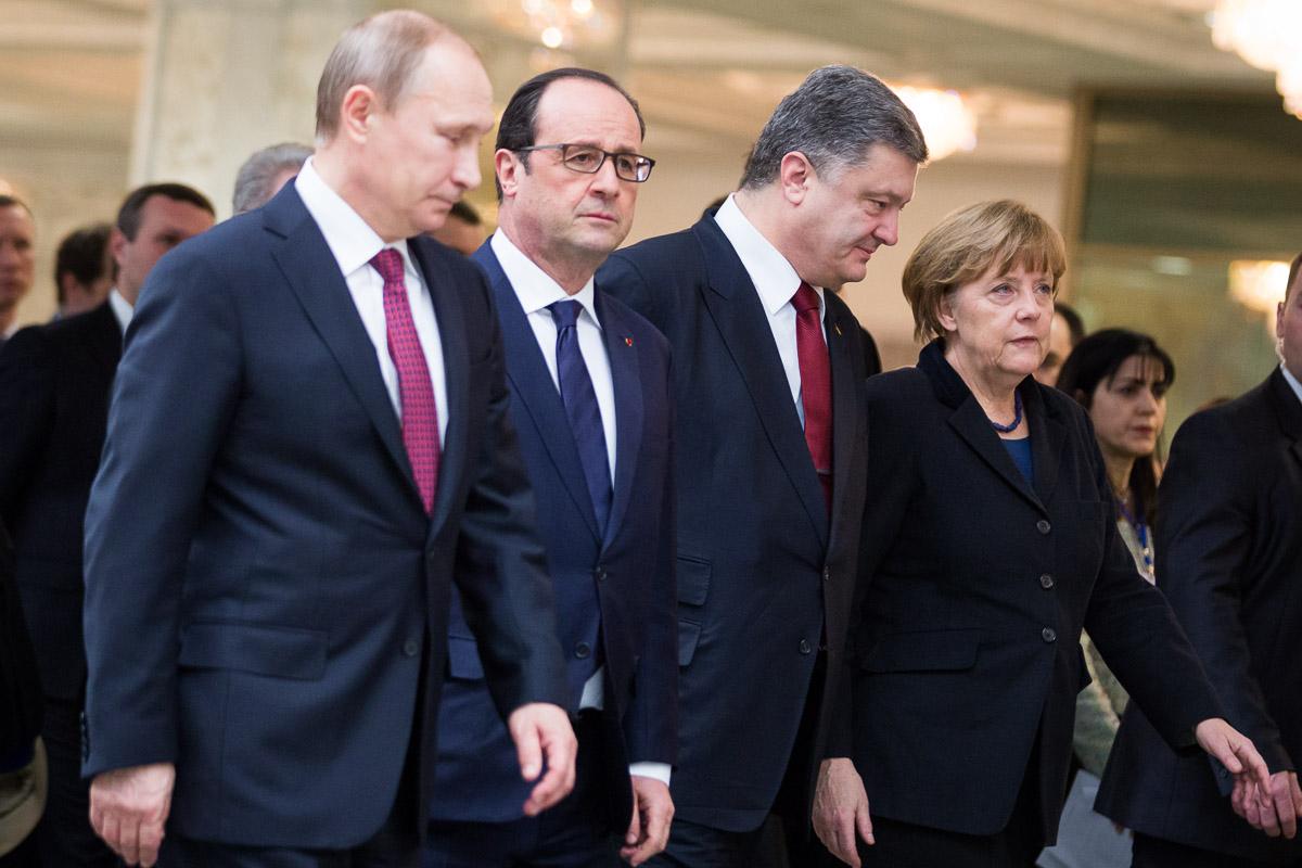 Лидеры Украины, Франции иГермании скоординируют позиции довстречи сПутиным