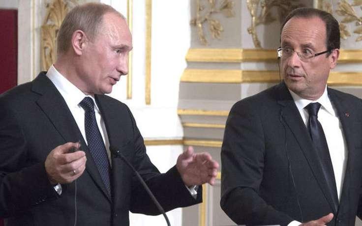 Владимир Путин отказался отвизита воФранцию