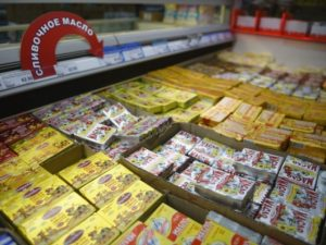 Более половины продаваемого в России сливочного масла   не масло