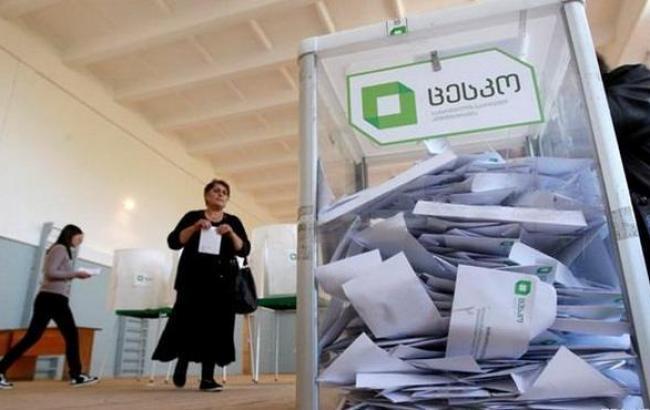 ЦИК Грузии огласил первые результаты выборов