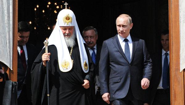 Патриарх всея Руси Кирилл отмечает 70-летие