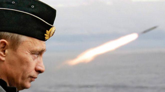 Путин назвал цели для ударов русских ракет