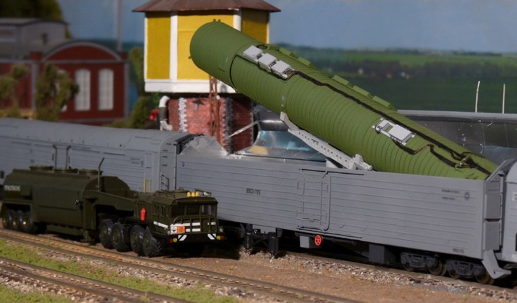 Ракета для нового «ядерного поезда» прошла бросковые тестирования