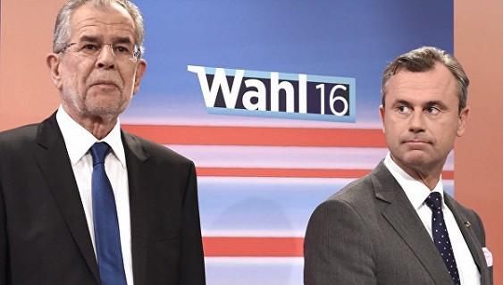 Навыборах президента Австрии выигрывает Александер Ван дер Беллен