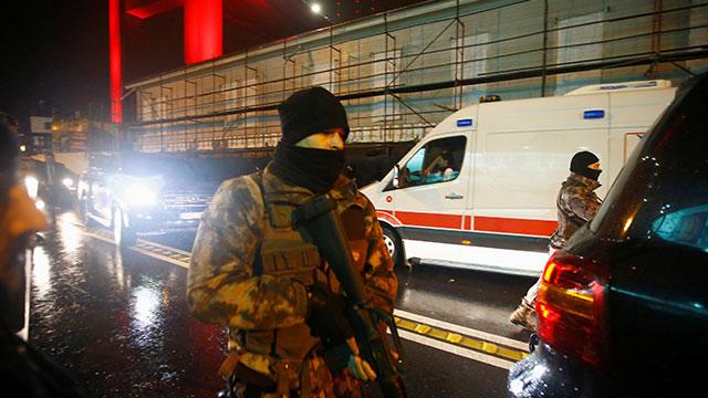 В Турции установили личность террориста напавшего на ночной клуб в Стамбуле