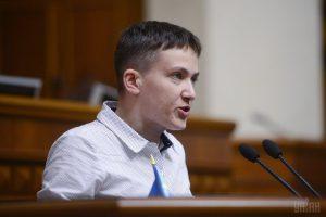 Савченко отказалась от депутатской неприкосновенности