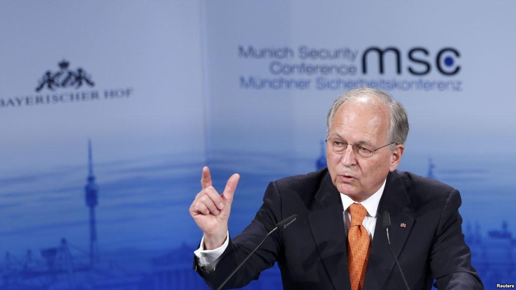 Международная сфера безопасности более неустойчивая современ 2-ой мировой войны— В.Ишингер
