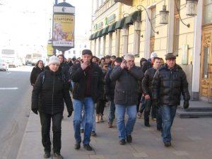 Новая оппозиция снова прогулялась по России