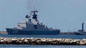 Ракетный фрегат невидимка ВМС Франции вошел в акваторию Черного моря