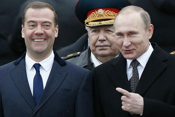 Путин поручил Медведеву защитить персональные данные граждан России