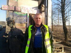 Фуры на Московском шоссе горят в «партизанской войне»
