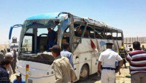 В Египте обстрелян автобус с христианами, погибли 28 человек, еще 20 ранены