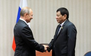 Дутерте заявил о «дружбе» с Москвой и попросил у Путина современное оружие