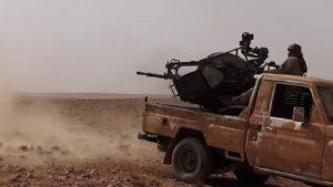 ВКС России уничтожила более 120 боевиков ИГ, прорывавшихся к Пальмире
