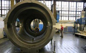 турбины производства немецкой компании Siemens