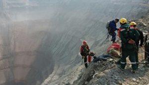ЧП на руднике «Мир» в Якутии