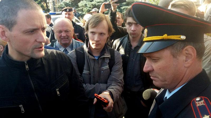 Удальцова задержала полиция