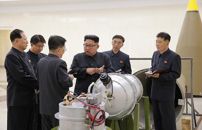 КНДР об испытании водородной бомбы