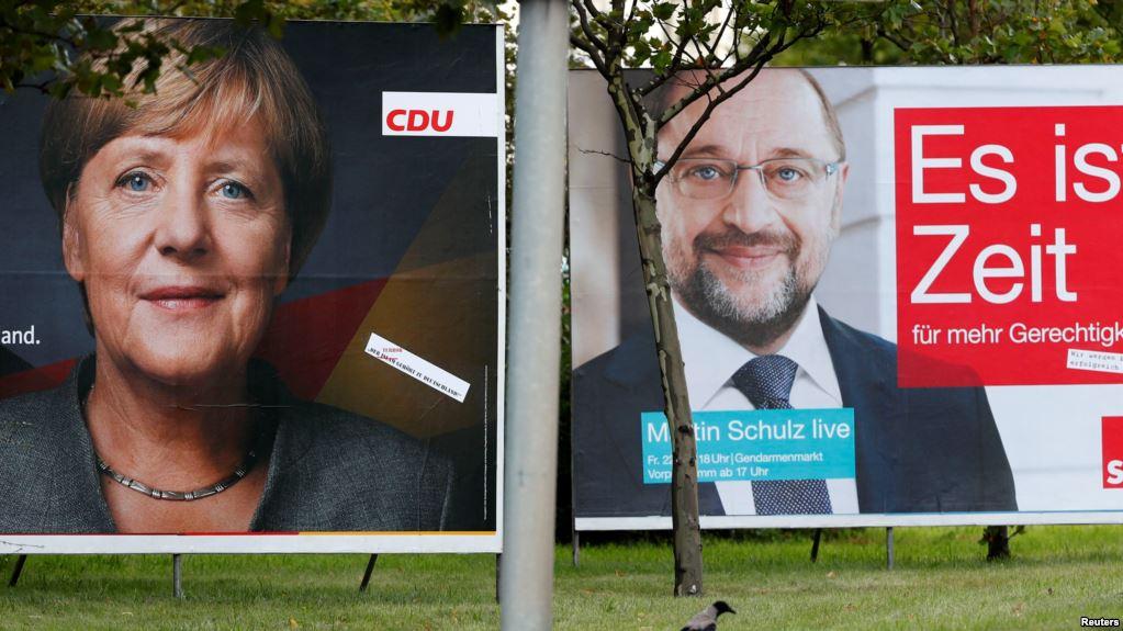 всеобщие парламентские выборы в Германии