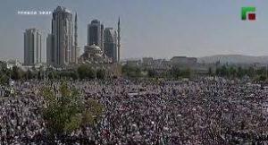 Грозный: митинг против «геноцида мусульман» в Мьянме