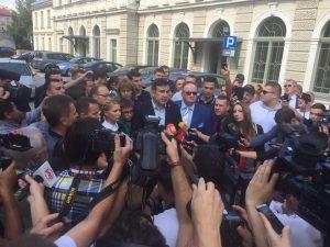 Саакашвили прорвался на Украину