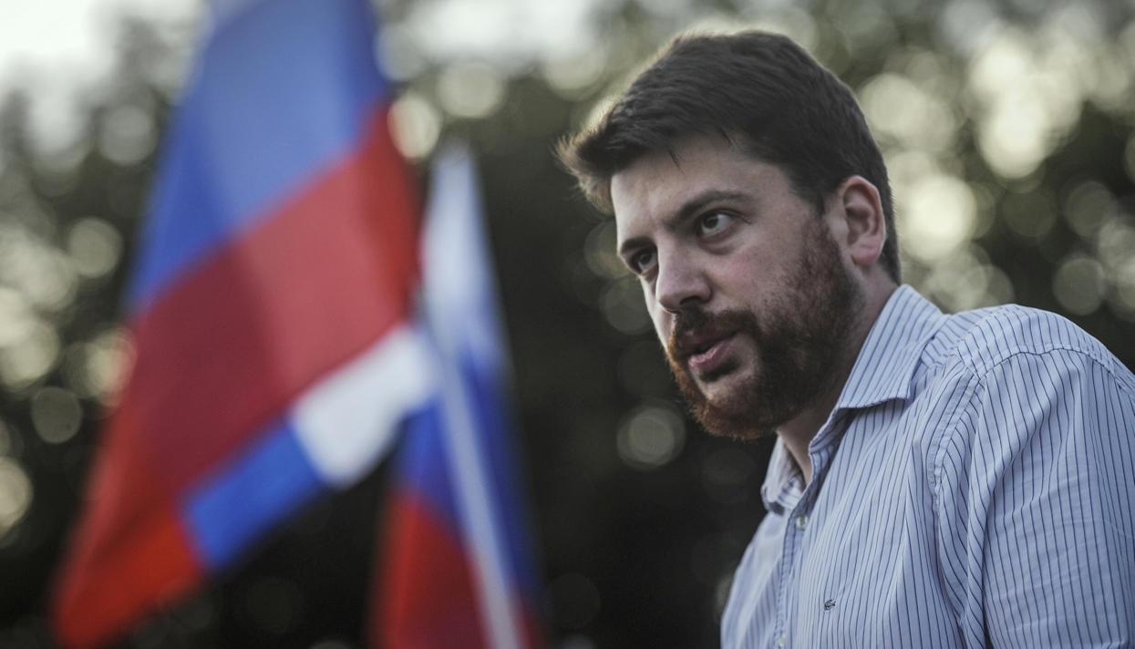 штаба оппозиционера Алексея Навального Леонида Волкова
