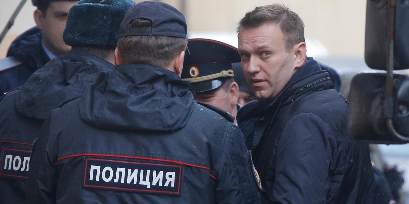 В столице милиция задержала Алексея Навального