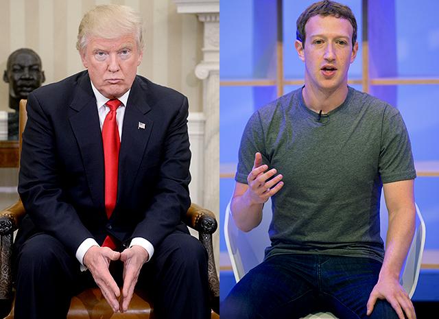 Трамп обвинил Facebook