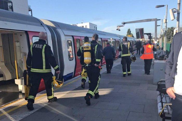 теракт в лондонском метро