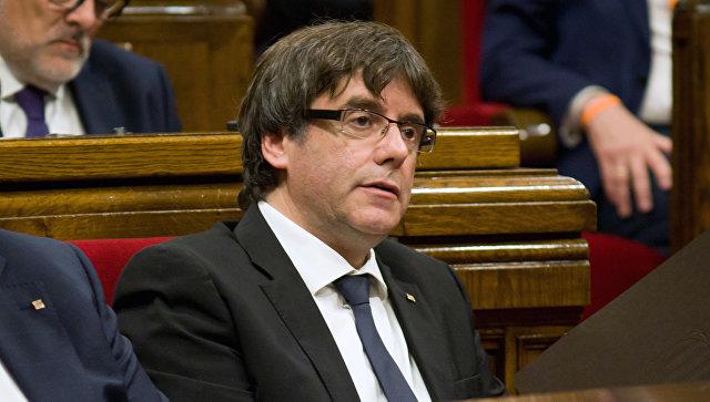 Пучдемон не будет выступать в сенате Испании
