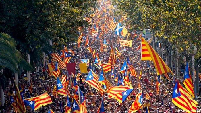 Руководитель Каталонии желает увидеться сиспанским премьер-министром