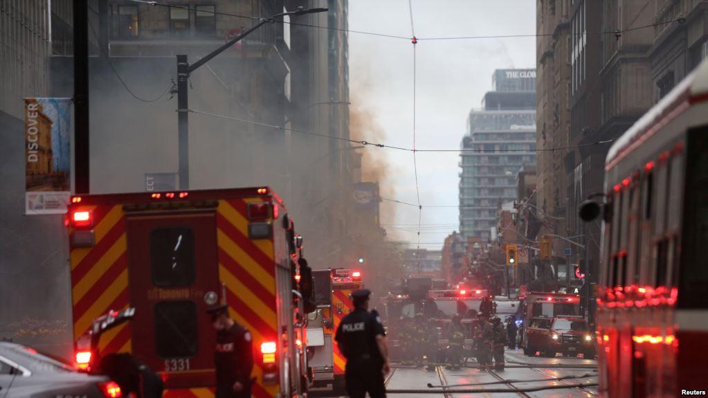 ВКанаде террорист порезал полицейского исбил четырех пешеходов